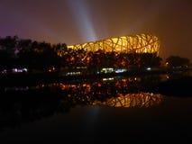 Le nid de l'oiseau dans Pékin Photos libres de droits