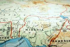 Le Nigéria Images stock