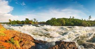 Le Nil blanc Image libre de droits