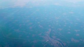 Le Nil en Egypte, Afrique d'en haut banque de vidéos