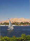 Le Nil Falluka Photographie stock libre de droits