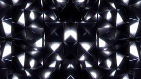 Le noir cube le fond clips vidéos