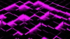 Le noir cube l'animation illustration stock