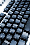 le noir détaille le clavier Photos stock