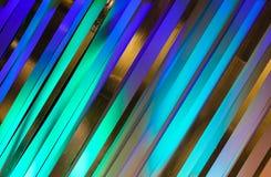 Le noir pourpre bleu de bandes de couleurs modifie la tonalité le fond Image libre de droits