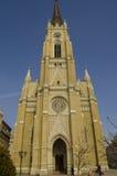 Le nom de Mary Church est une église paroissiale catholique à Novi Sad, Serbie photos stock