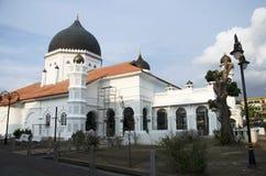 Le nom de mosquée ou de Malais de Kapitan Keling : Masjid Kapitan Keling Photo stock