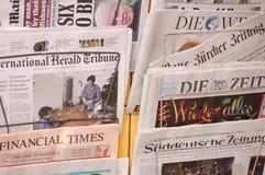 Le notizie fotografie stock libere da diritti