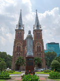 Le Notre Dame Cathedral (Ho Chi Minh, Vietnam) Photographie stock libre de droits