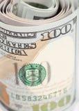 Le nouveau billet d'un dollar des États-Unis 100 Images libres de droits