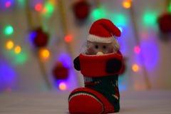 Le nouveau conte de fées du ` s d'année vient à chaque maison Photos stock