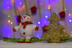 Le nouveau conte de fées du ` s d'année vient à chaque maison photo stock