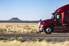 Le Nouveau Mexique - 10 d'un état à un autre Images stock