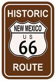 Le Nouveau Mexique Route 66 historique Photographie stock