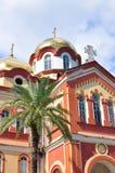 Le nouveau monastère d'Athos en l'Abkhazie en juillet 2016 Photos stock