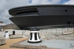 Le nouveau musée de Mary Rose photos libres de droits