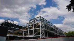 Le nouveau site 2019 de construction de bâtiments d'hôpital de Birmingham photo stock