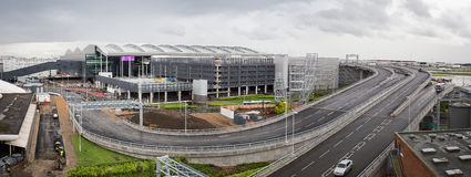 Le nouveau terminal 2 à l'aéroport de Heathrow s'ouvre Photographie stock