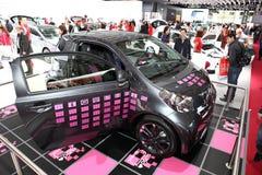 Le nouvel amour Paris de Toyota Q.I.I Images stock