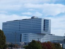 Le nouvel hôpital de mémorial de l'espace vert Photo libre de droits