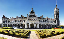 Le Nouvelle-Zélande, Dunedin, gare ferroviaire historique photographie stock