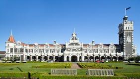 Le Nouvelle-Zélande, Dunedin, station de train photo libre de droits