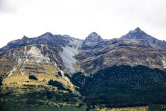 Le Nouvelle-Zélande pendant l'été image stock