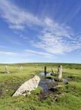Le nove pietre di Alternun Fotografia Stock Libera da Diritti