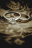 Le nozze eleganti invitano Fotografia Stock