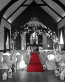 Le nozze hanno installato per il matrimonio civile in cappella in Sligo fotografia stock