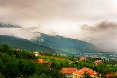 Le nuage de Cangshan Image libre de droits