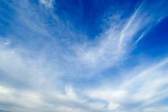 Le nubi Fotografia Stock