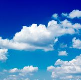Le nubi. Fotografia Stock Libera da Diritti