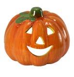 Le orange halloween pumpa Royaltyfria Bilder