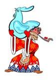 Le père noël chinois Photo stock