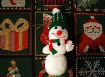 Le père noël comme décoration de Noël Image libre de droits