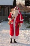 Le père noël (saint Nicholas) Image libre de droits