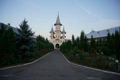 Le pénétrer dans au monastère Oradea images stock