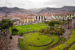 Le Pérou, Cuzco 2017 Images stock