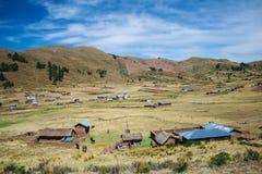Le Pérou dans le pays Image stock