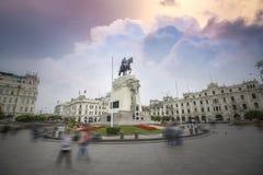 le Pérou de Lima photographie stock