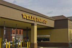 Le Pérou, DEDANS - vers en mars 2016 : Un Wells Fargo Retail Bank Branch I Images stock