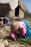 Le Pérou, le Lac Titicaca Photographie stock