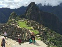 Le Pérou - le Machu Picchu Photos libres de droits