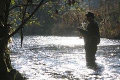 Le pêcheur Image libre de droits