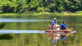 Le pêcheur Images libres de droits
