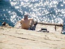 Le pêcheur Photos libres de droits