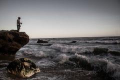 Le pêcheur d'artisan de Todasana photo stock