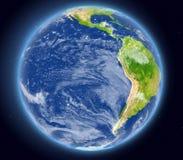 Le Pacifique est de l'espace Photos stock