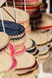 Sandali delle scarpe di tela Immagine Stock Libera da Diritti